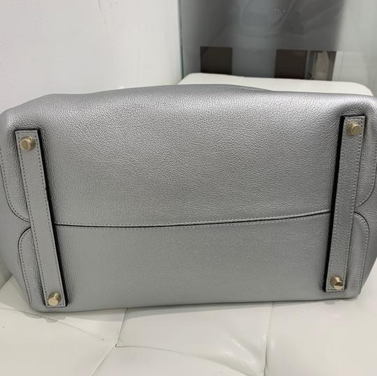 Dior Satchel in silver