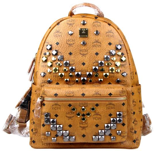 Preload https://img-static.tradesy.com/item/24568545/mcm-cognac-medium-studded-mmk6sve18co001-brown-coated-canvas-backpack-0-2-540-540.jpg