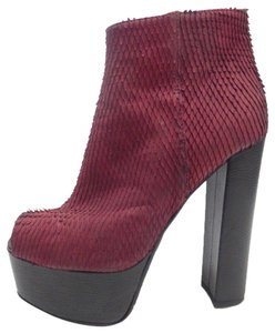 Amanda Gregory Red Boots