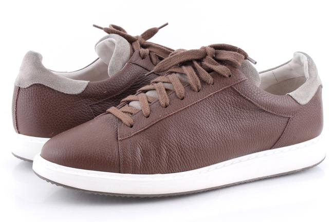 Item - Brown Men's Chunky Sole Sneakers Shoes
