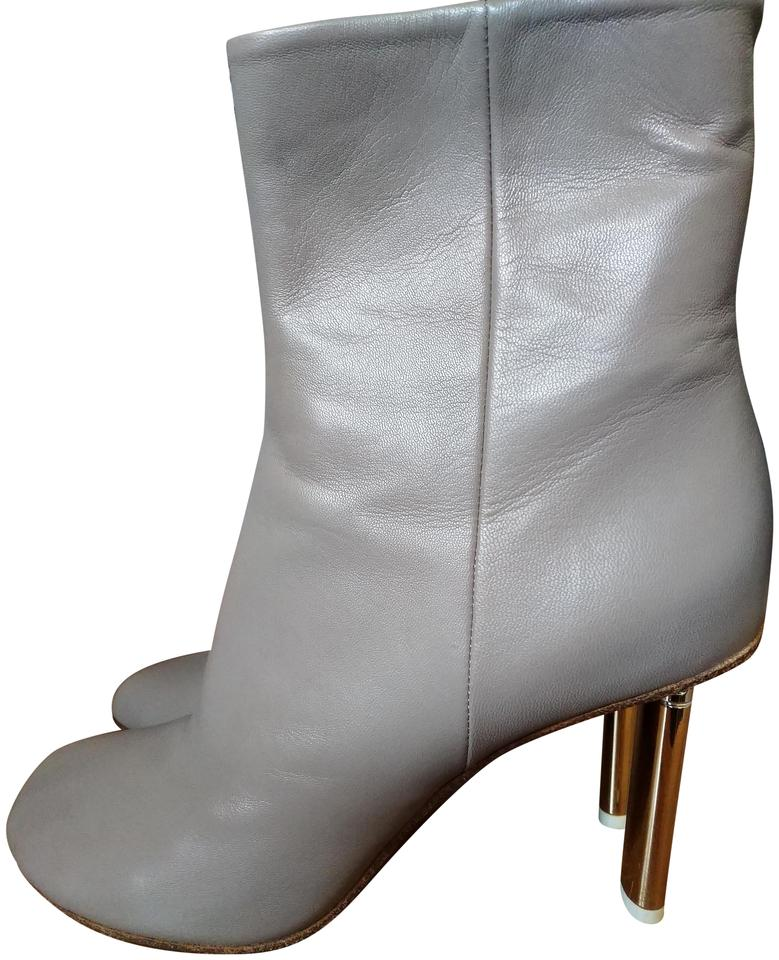 f9f28c9b1781 Vetements Taupe Golden Rounded Boots Booties Size EU 41 (Approx. US ...