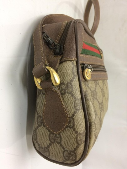 Gucci Shoulder/Cross Accessory Col Popular Style Excellent Vintage Lots Of Pockets Cross Body Bag