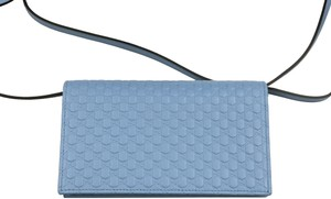 Gucci Microguccissima Wallet Leather Cross Body Bag