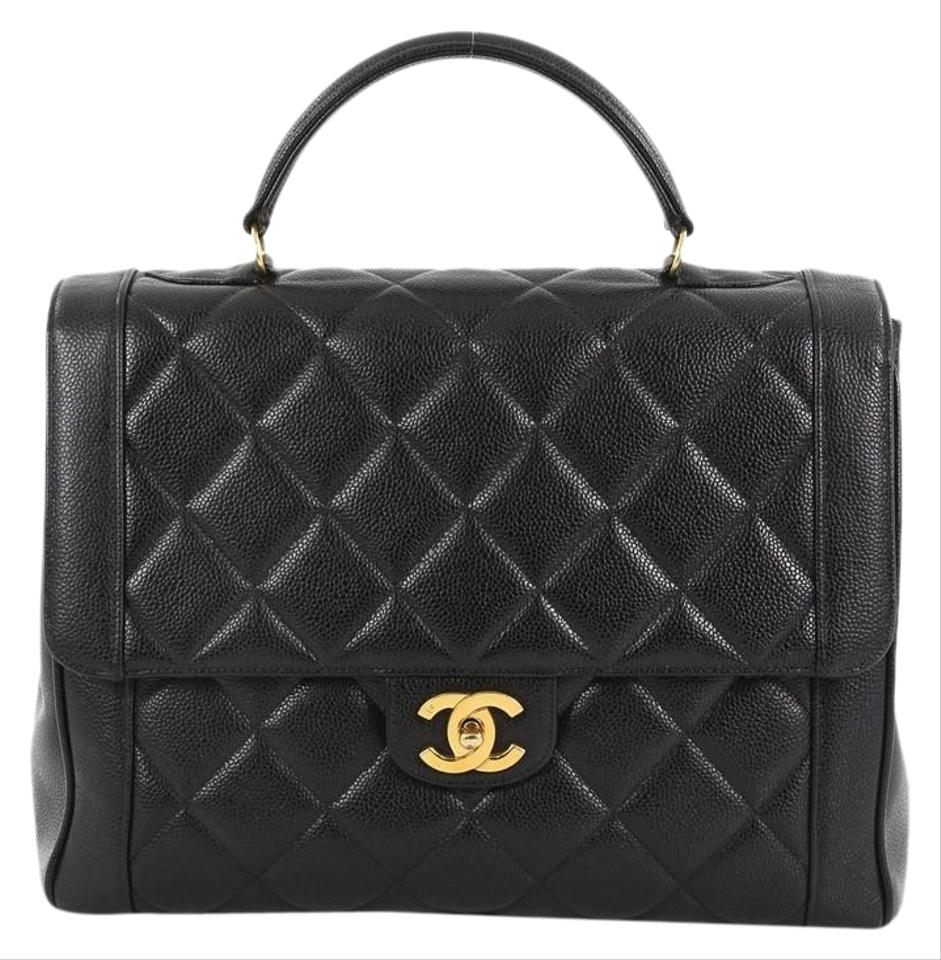 a8e96964a08f Chanel Bag with Classic Flap Vintage Classic Top Handle Quilted ...