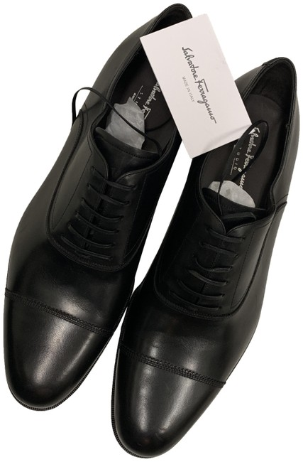 Item - Black Guru Oxford Lace Up Formal Shoes Size US 12 Extra Wide (Ww, Ee)