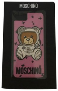Moschino MOSCHINO pink teddy printed iPhone 6/7/8 Plus case