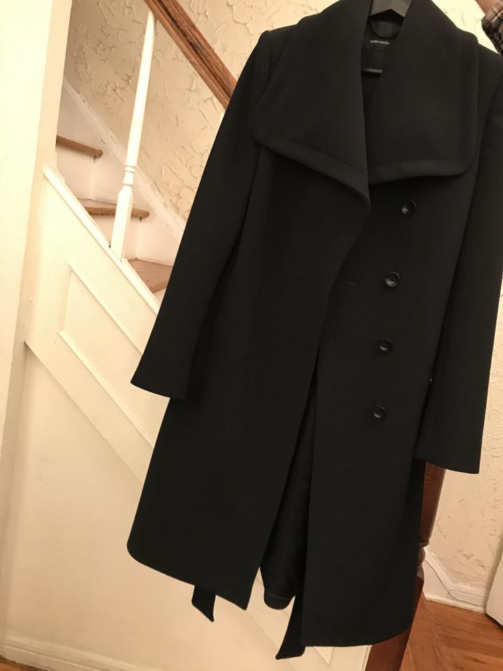 retro clear and distinctive innovative design Black Coat