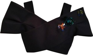 Delpozo Top Black multiple