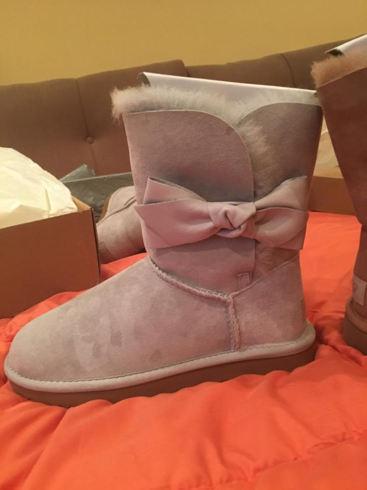 3c253251280 UGG Australia Light Grey Box New In Violet Daelynn Suede Boots/Booties Size  US 7 Regular (M, B) 40% off retail