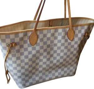 Louis Vuitton Tote in beige and grey