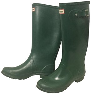 Hunter Rubber Forest Green Boots