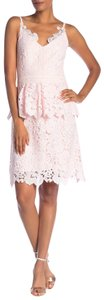 Ted Baker short dress Pale Pink on Tradesy