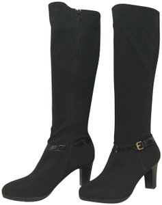 Ralph Lauren Collection Leather Black Boots