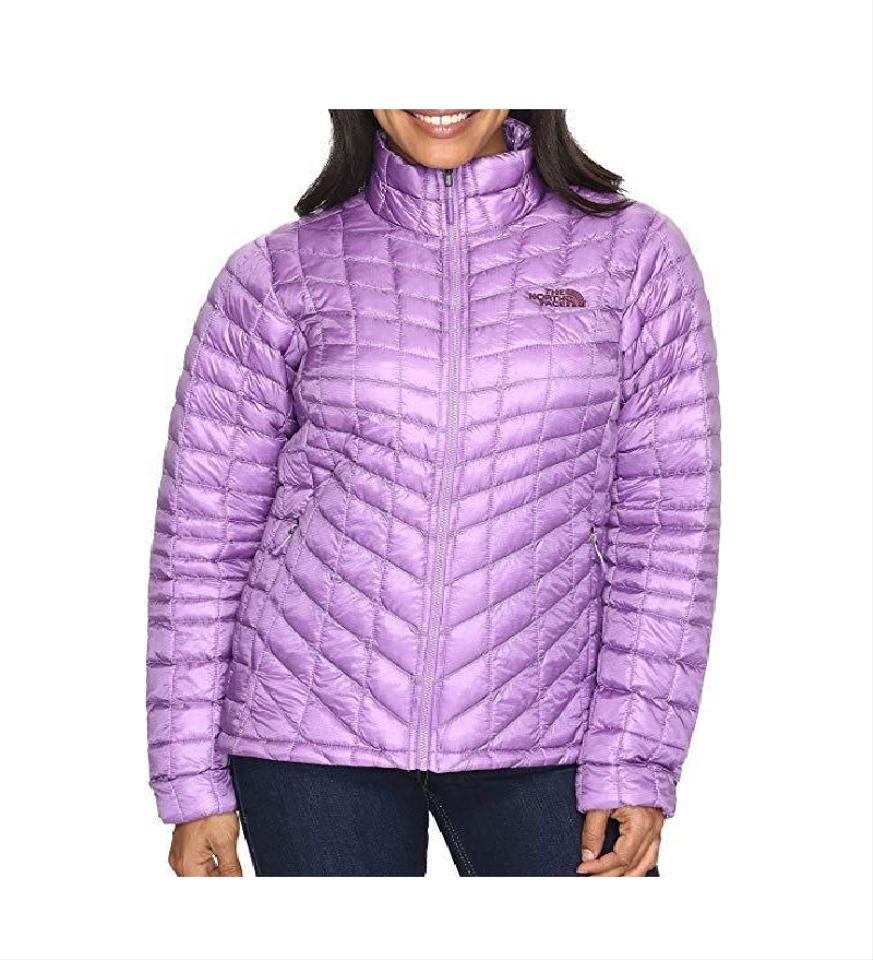 c13196a65 The North Face Purple Womens Thermoball Insulated Coat Full Zip Medium  Jacket Size 8 (M)
