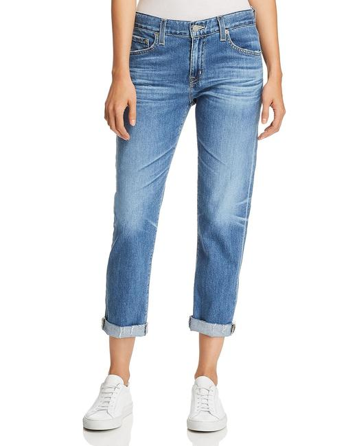 AG Adriano Goldschmied 14 Years Foxtail Distressed Slouchy Tomboy Raw Released Boyfriend Cut Jeans Size 29 (6, M) AG Adriano Goldschmied 14 Years Foxtail Distressed Slouchy Tomboy Raw Released Boyfriend Cut Jeans Size 29 (6, M) Image 1