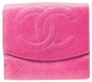 Chanel Auth CHANEL Timeless Trifold Wallet Iconic Classic