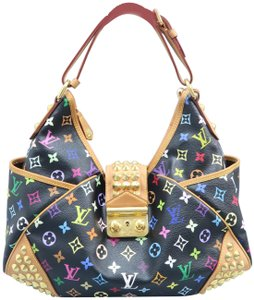 Louis Vuitton Lv Chrissie Multicolore Canvas Hobo Bag