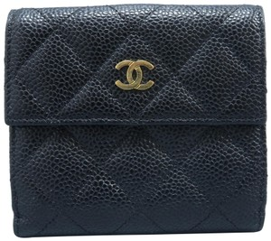 Chanel Chanel Quilted Compact Wallet