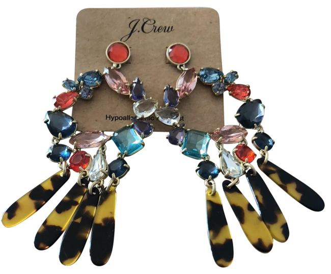 Item - Multicolor Statement Post Earrings