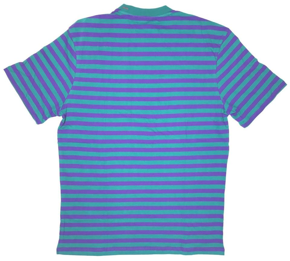 bbc3c5a8 Guess Turquoise Asap Rocky Collection Tee Shirt Size 16 (XL, Plus 0x ...