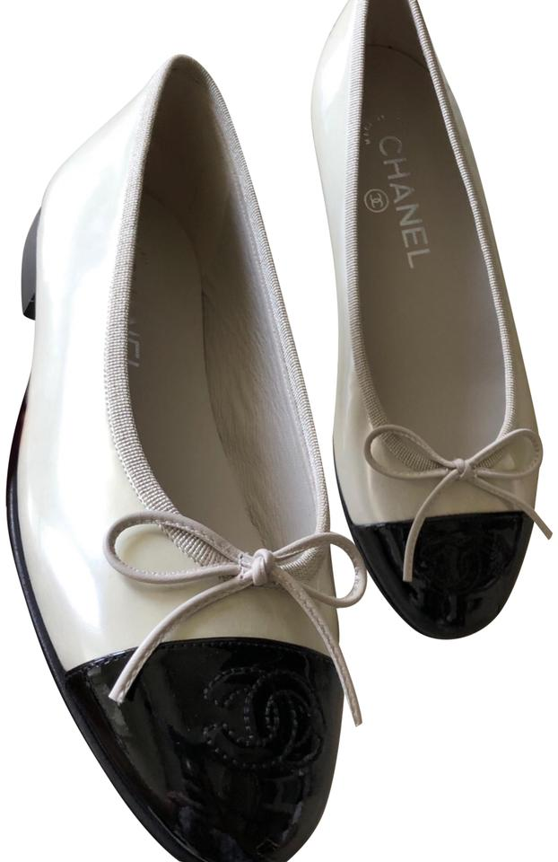 daef48c075 Chanel Ballet Pearl Shiny Flats Size EU 36 (Approx. US 6) Regular (M ...