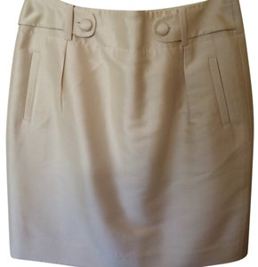 Banana Republic Skirt Off White Or Beige