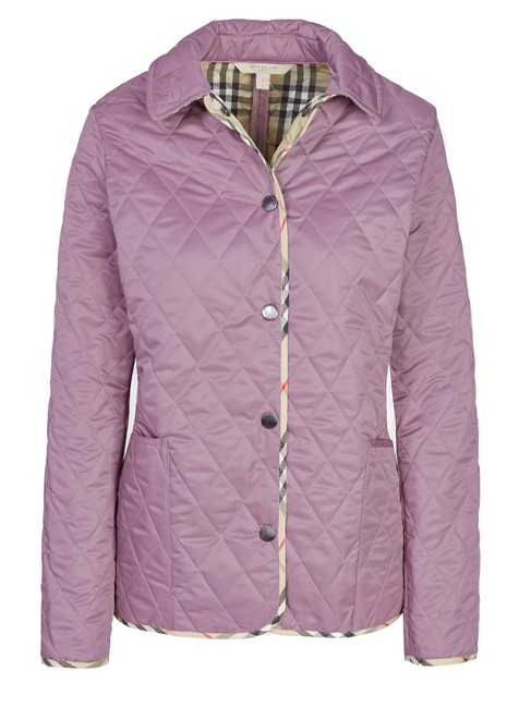 Item - Lilac Classic Quilted /Coat By Brit 56952 Jacket Size 12 (L)