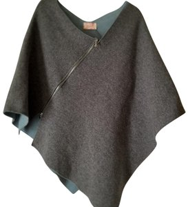 Nordstrom Poncho Made In Italy One-size Sweater