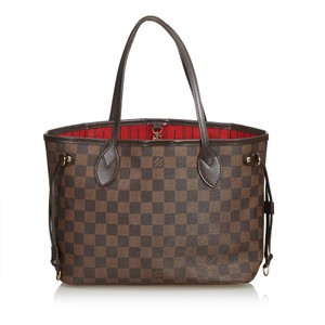 Louis Vuitton 8klvto038 Tote in Brown