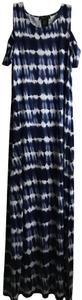 Navy and white Maxi Dress by Design History