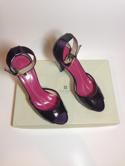 Kate Spade Patent Leather Ankle Strap purple Pumps Image 4