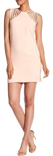 Preload https://img-static.tradesy.com/item/24571343/dress-the-population-pink-cora-strappy-shoulder-sheath-mid-length-night-out-dress-size-12-l-0-1-650-650.jpg