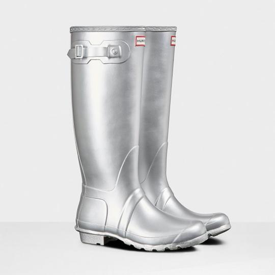 Hunter silver Boots Image 1