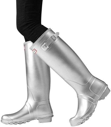 Hunter silver Boots Image 0