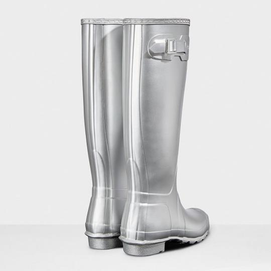 Hunter silver Boots Image 2