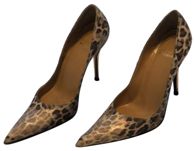 Item - Cheetah Linen Fever Formal Shoes Size US 6 Narrow (Aa, N)