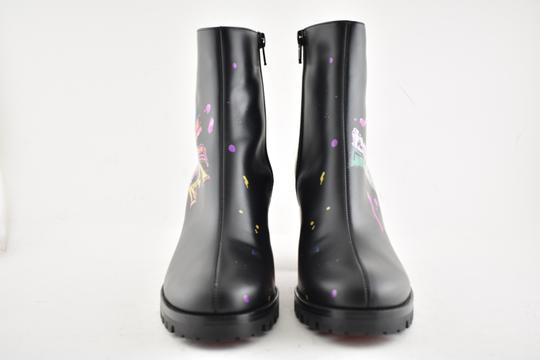 Christian Louboutin Stiletto Ankle Classic Love black Boots Image 4