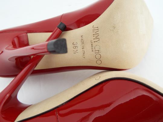Jimmy Choo Sexy Pointed Anouk Love Prince Of Stars Romy Red Pumps Image 10