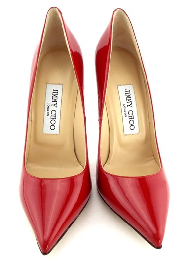 Jimmy Choo Sexy Pointed Anouk Love Prince Of Stars Romy Red Pumps Image 2