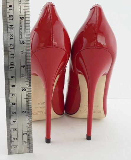 Jimmy Choo Sexy Pointed Anouk Love Prince Of Stars Romy Red Pumps Image 8