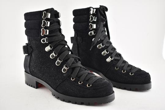 Christian Louboutin Stiletto Ankle Classic Love black Boots Image 3