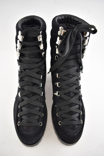 Christian Louboutin Stiletto Ankle Classic Love black Boots Image 6