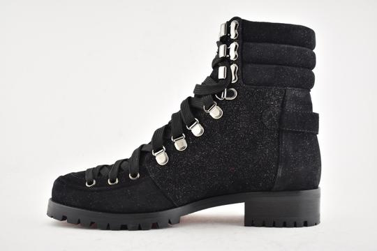 Christian Louboutin Stiletto Ankle Classic Love black Boots Image 7