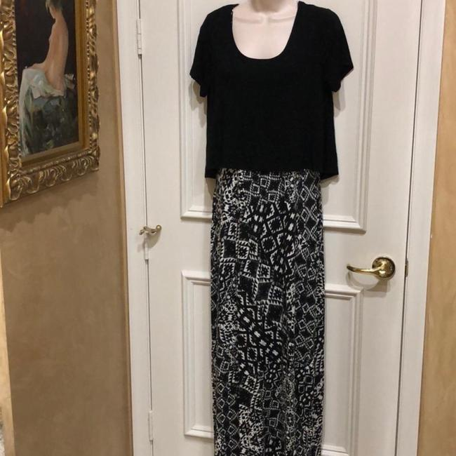 Black Maxi Dress by Saks Fifth Avenue Image 1