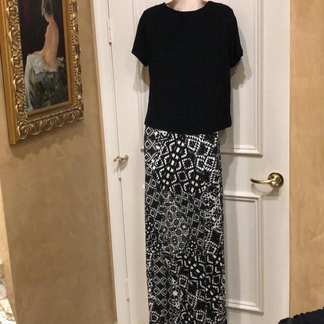 Black Maxi Dress by Saks Fifth Avenue Image 4