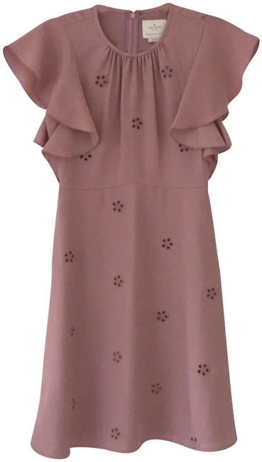 Preload https://img-static.tradesy.com/item/24571618/kate-spade-dusty-pink-cutout-crepe-short-formal-dress-size-0-xs-0-1-650-650.jpg