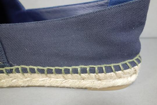 Chanel Navy Blue & Green Flats Image 8