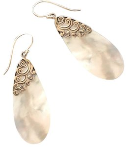 Other Mother Of Pearl/Sterling Silver Tear Drops
