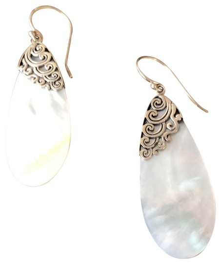 Other Mother Of Pearl/Sterling Silver Tear Drops Image 1