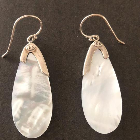 Other Mother Of Pearl/Sterling Silver Tear Drops Image 4